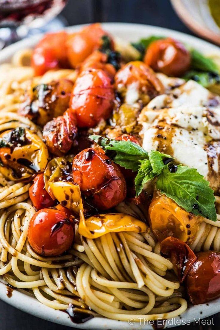 Fresh Summer Spaghetti   – Fitness-Food & Recipes (gesund & vegan)