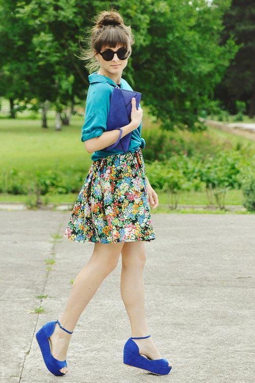 Dress -ChicwishBlouse - StradivariusClutch -Sagana.pl  Sandals -Sholove(image:maddinka)