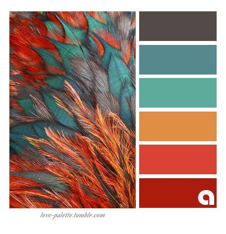 Paletas de colores y tonalidades