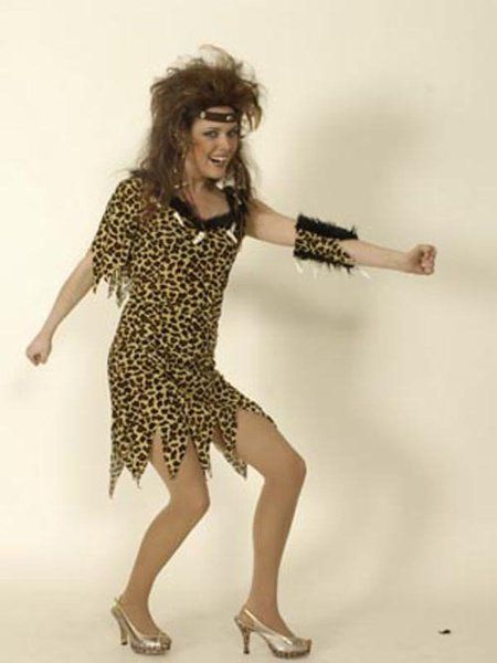 "https://11ter11ter.de/58832674.html Kostüm ""Neandertaler"" für Frauen #Karneval #Fasching #Mottoparty #11ter11ter #Outfit #Kostüm #Partnerkostüm #Twins #Neandertaler"