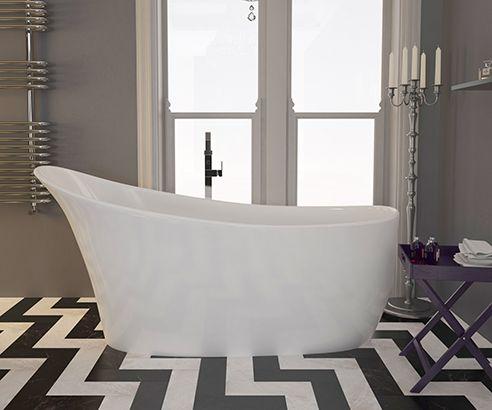 Vittone Freestanding Bath 1590 x 700mm - V32171021 scene square medium