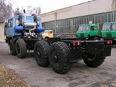 Přestavba vozidla na T815 návěsový tahač 8x8
