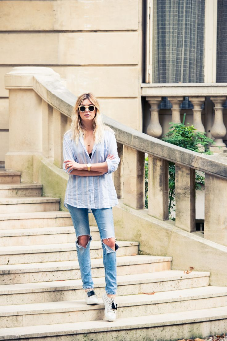 Effortless, yet so amazing. http://www.thecoveteur.com/camille-charriere-over-the-rainbow/