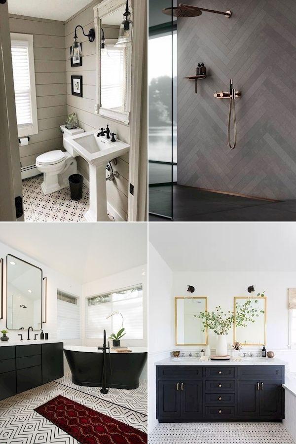 His And Hers Bathroom Set Home Bathroom Ideas Grey Bathroom Decor In 2020 Gray Bathroom Decor Small Bathroom Decor Bathroom Wall Decor