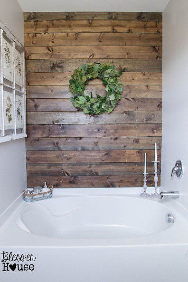 Rustic Bathroom Wall Ideas 25+ best rustic bathroom decor ideas on pinterest | half bathroom