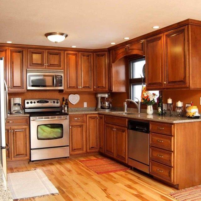157 best home decor ideas images on pinterest backsplash for Orange kitchen walls
