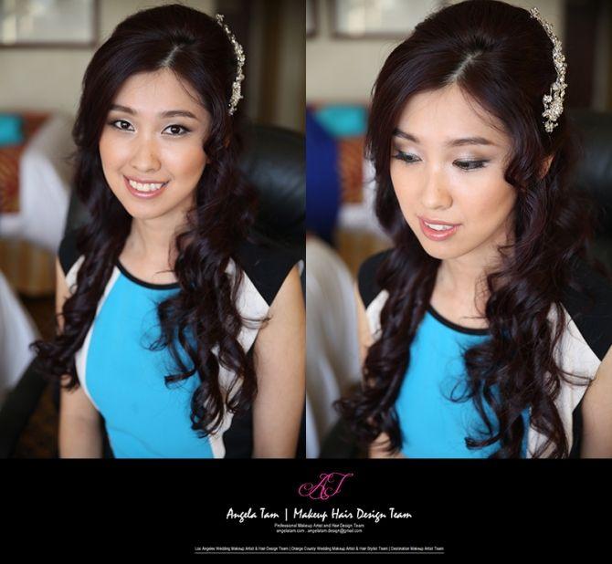 Marriott Marina Del Rey Wedding Asian Bride Makeup Artist And Hair Stylist Angela