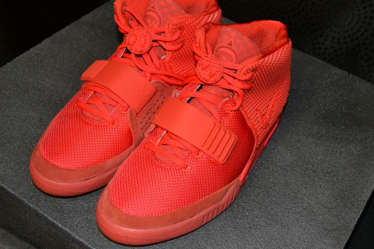 "An Up Close Look at the Nike Air Yeezy 2 ""Red October"""