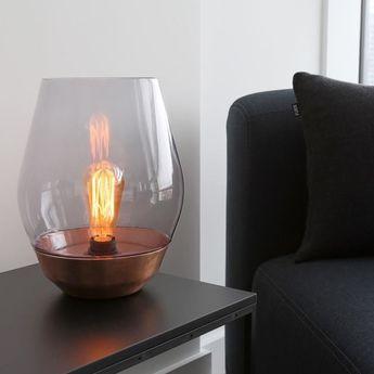 83 best Elegant Glass lamps L élégance des lampes et luminaires en