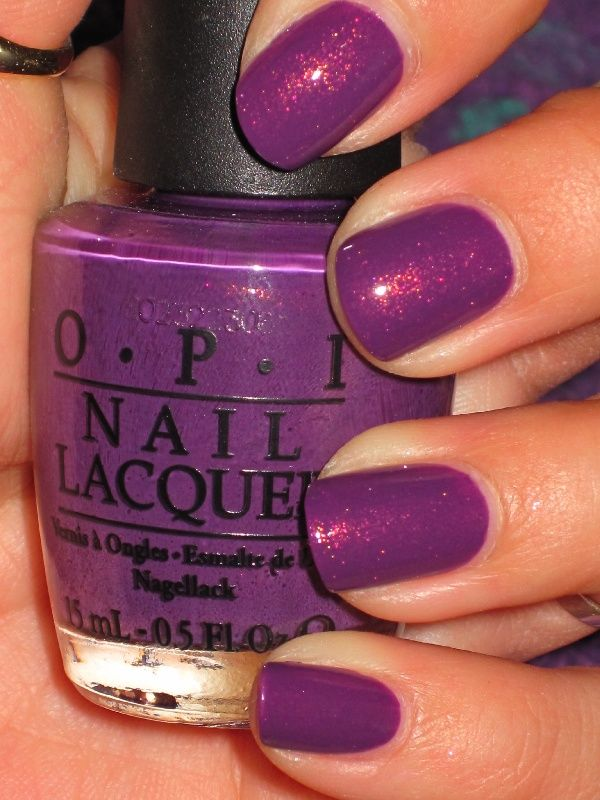 Radiant Orchid - Polish Nails Colored 2014 of The Year