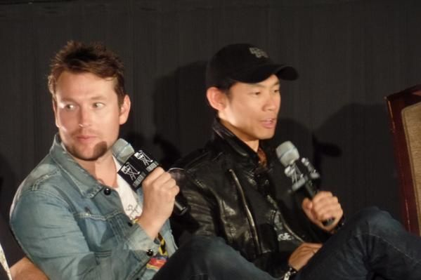 Leigh Whannell & James Wan at SAW 10yr Anniversary screening
