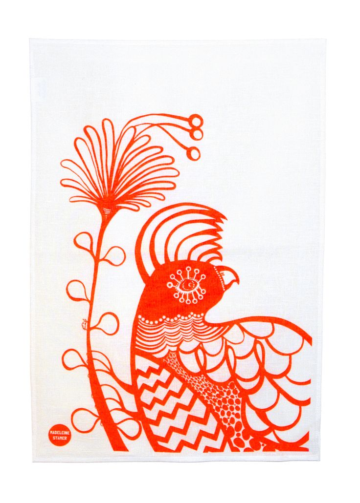 The amazing Cockatoo Tea Towel by Madeleine Stamer of Little Circus Designs.  http://digitaledition.lighthome.com.au/?iid=80630#folio=7