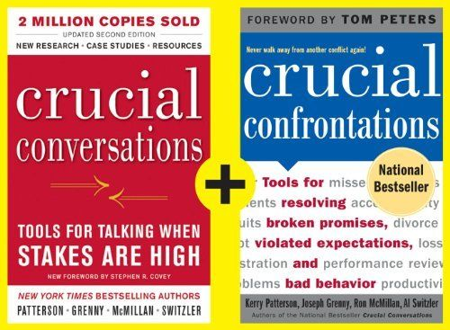 crucial conversation workbook Crucial conversations: tools for talking when stakes are high beating the  midas curse getting to  get the pdf version of the legacy project workbook.