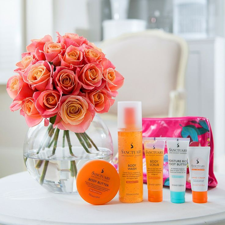 Weekend Essentials Pampering Gifts & Flowers @ Debenhams