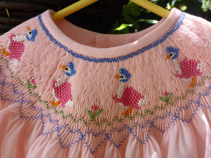 Obispo yugo Vestido de Smocking ' Jemima Puddle-duck' por Sarai0989