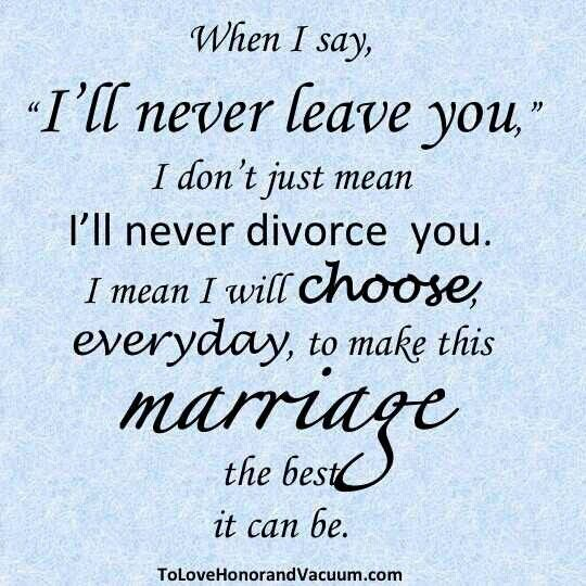 Divorce isn't an option. Either we work it out or I'll have to just kill my husband. Lmao