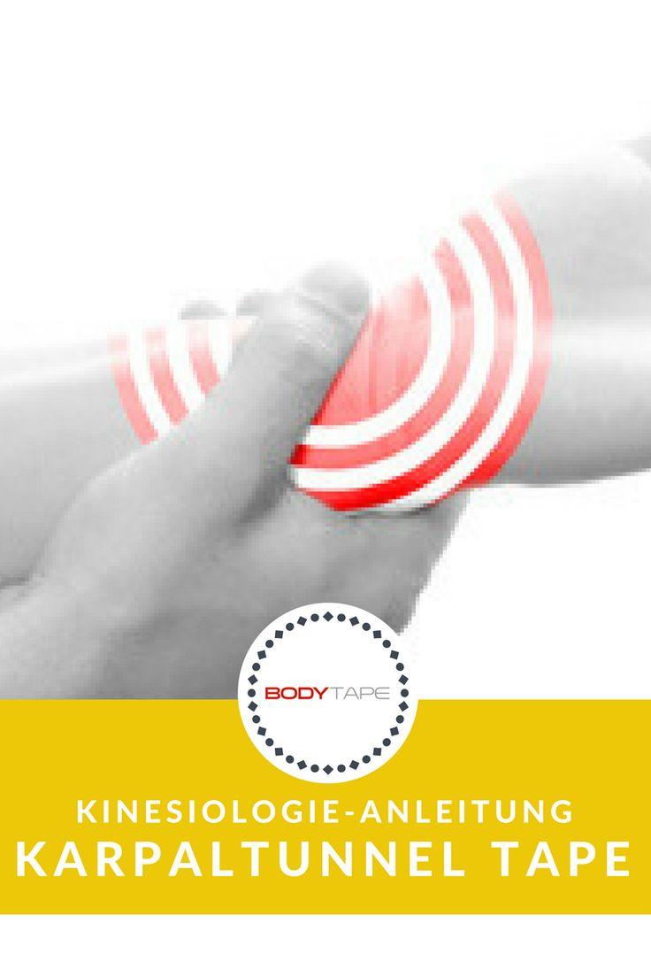 Karpaltunnel Tapen Anleitung - Kinesiologie Tape Anleitung für den Karpaltunnel   Zur Anleitung: https://www.bodytape.net/kinesiology-tape-anleitungen/handgelenk-tapen-daumen-tapen-finger-tape-hand-tapen-tape-handgelenk-tapen-anleitung/