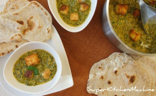 Spinach and home-made fresh cheese combine with simple curry flavours for a warmly spiced comfort food popular around the world. Everything is easier with Thermomix in the kitchen!