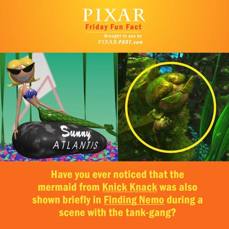 Pixar Friday Fun Fact