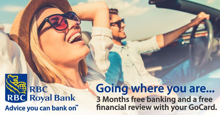 Wherever you're going, RBC will take you further and get you there faster! Get a Sooke GoCard and get 3 months of free banking plus a free financial review at RBC. Get it. Got it. Go RBC! #SookeGoCard #GoRBC Get a GoCard here//bit.ly/2qlGbI2