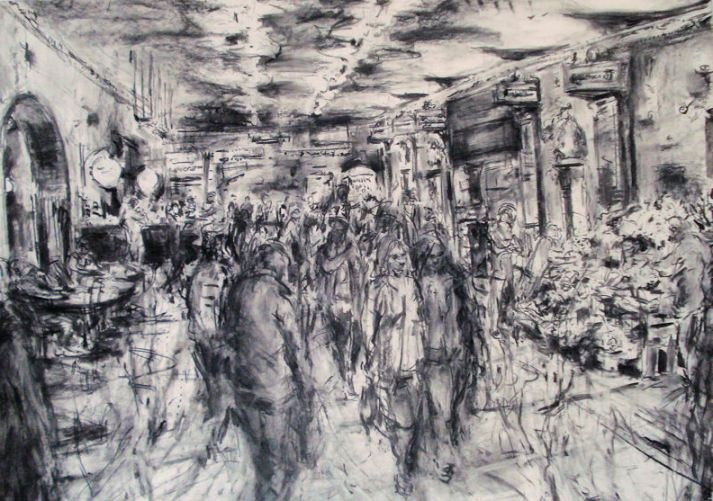 Jeanett Barnes, drawing project