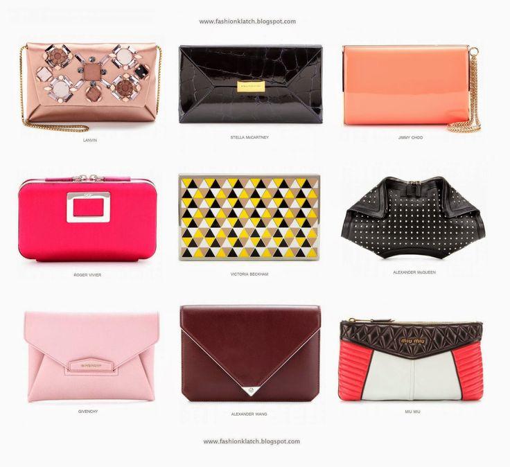 FASHION KLATCH: Fashion Trend Spring/Summer 2014: Pochette