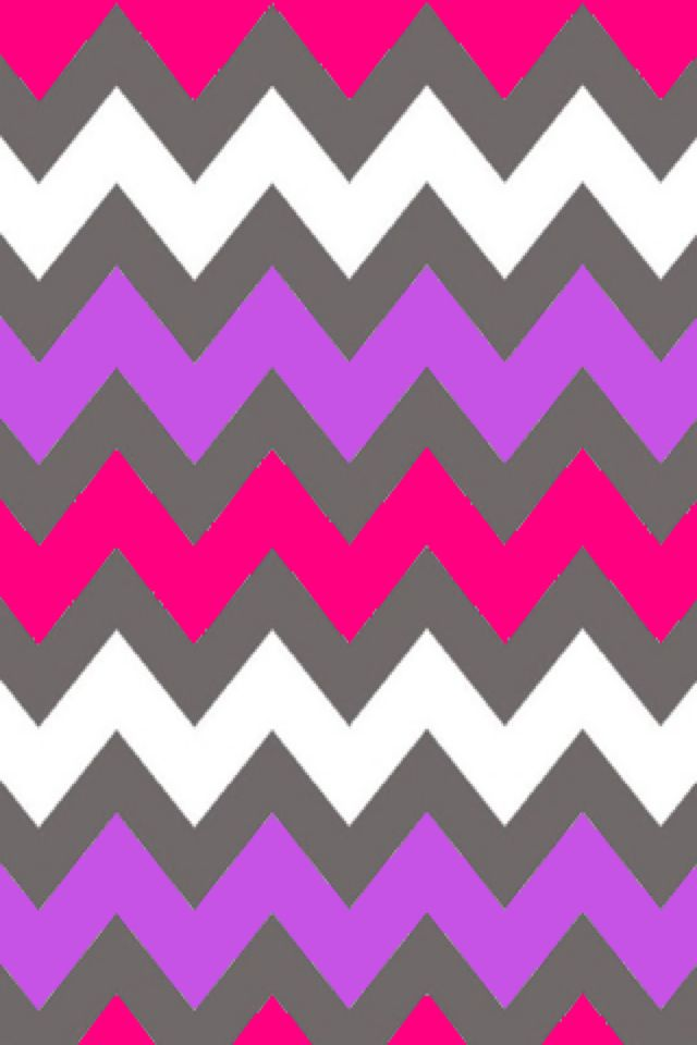 gray purple pink and white chevron wallpaper pattern