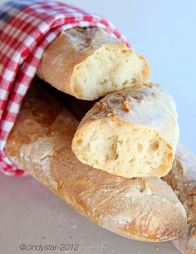 Julia Child's French bread recipe.  Want to make it to compare to my recipe I learned from my dad.