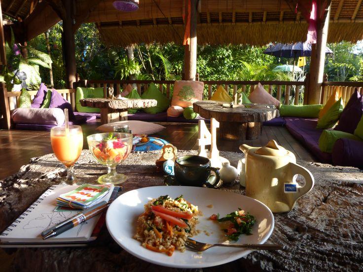 Breakfast at Swasti Eco Cottage