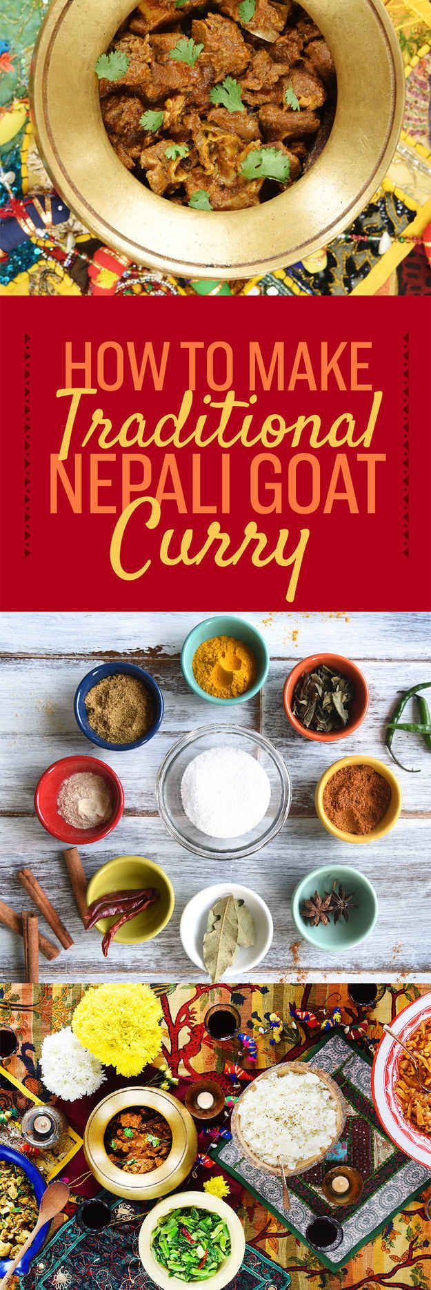 How To Make Proper Nepali Goat Curry- Goat is delicious, just take a look at our northern Nepali sisters for some amazing tips! | Brown Girl Magazine