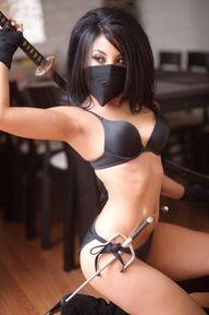Ninja Woman With Swo - http://videogamedemons.com/2014/01/04/ninja-woman-with-swo/