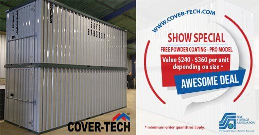 We are so excited about the upcoming SSA Trade Show in Las Vegas that we are offering a never seen before Show Special. FREE POWDER COATING on our Pro Series Containers starting NOW and for the entire month of September!!! Come visit us at Booth 710 www.cover-tech.com #ssa #selfstorageassociation #selfstorage #mobilestorage #ministorage #selfstorageconversion #lasvegas #caesarspalace #portablestorage #SelfStorage #SSAVegas17