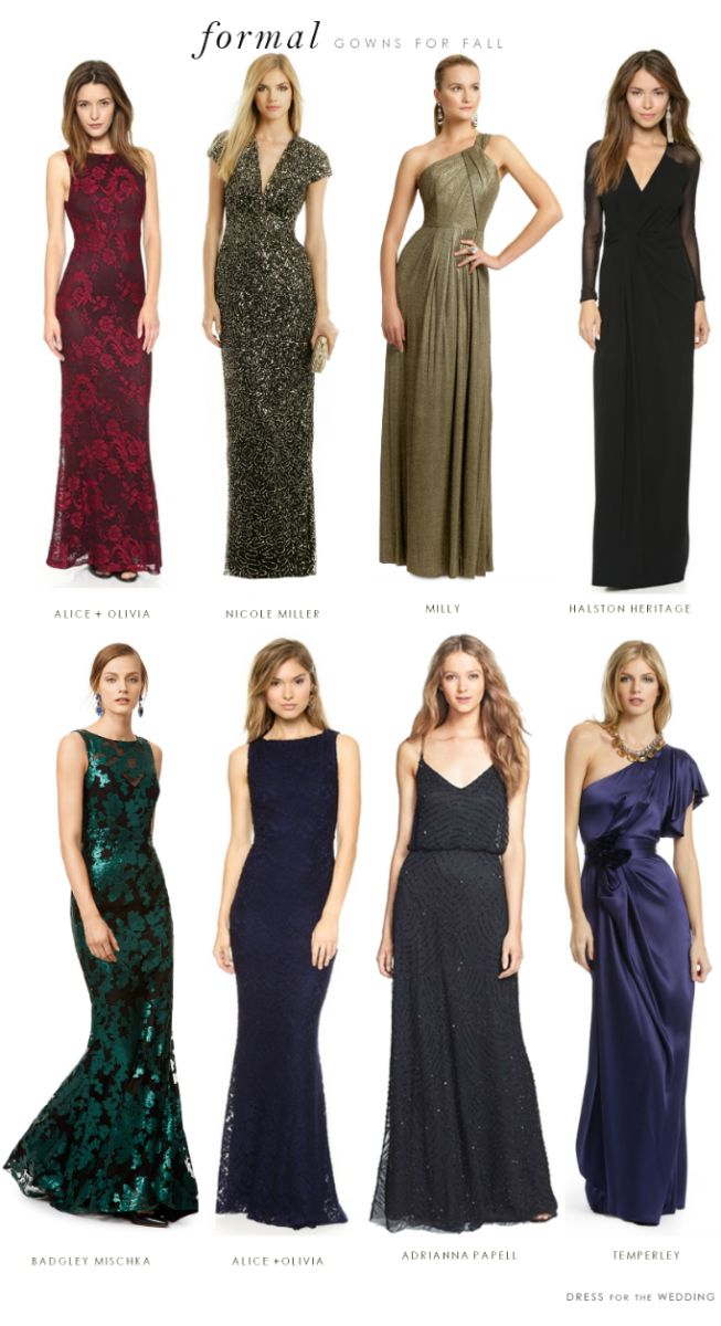 bb9bd5553d2 What to Wear to a Formal Black Tie Wedding
