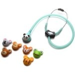 Stethoscope accessories for the pediatric nurse