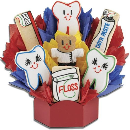 Dental Cookie Bouquet   Cookies by Design                                                                                                                                                                                 More