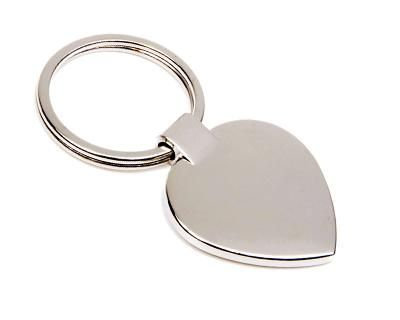METAL KEY RINGS – K20  Price includes 1 color, 1 position print   2 Color imprint available for an additional charge  Metal keyring opener with black gift box.  Decoration option: Pad print, Laser engrave  Print & Laser Engraving Area: Front 22mm (D), Rear 22mm (D)