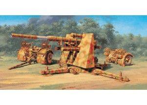 8.8 Cm. FLAK 37 AA Gun 1:48