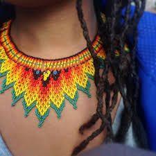 Culturales indígenas collar - Pesquisa Google