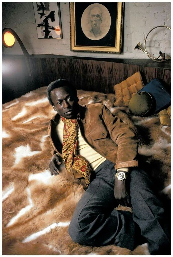 Miles Davis. The definition of cool.