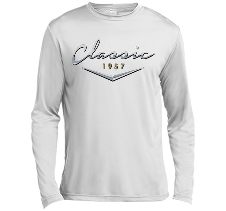 Men's Vintage Classic 1957 T Shirt / 60th Birthday Gifts for Him