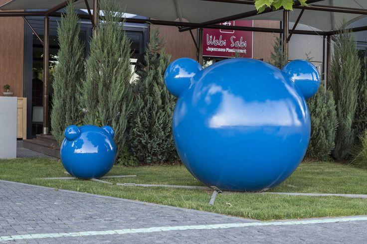 Ivan Csudai: Macík (socha je umiestnená v River Parku) http://www.rivergallery.sk/v%C3%BDstavy/upstream.aspx