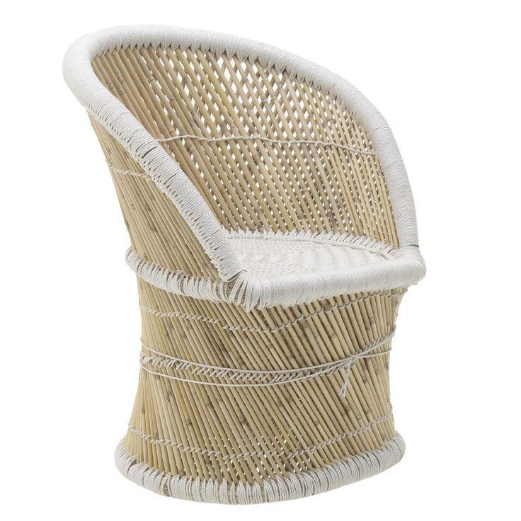 Бамбуково кресло / #мебели #обзавеждане