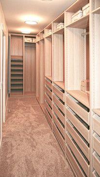 Walk Through Closet Design Ideas Pictures Remodel And
