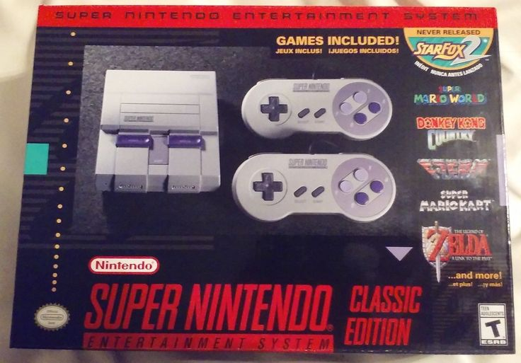 NEW - SNES Classic Edition Mini - Super Nintendo - FAST SHIPPING | eBay