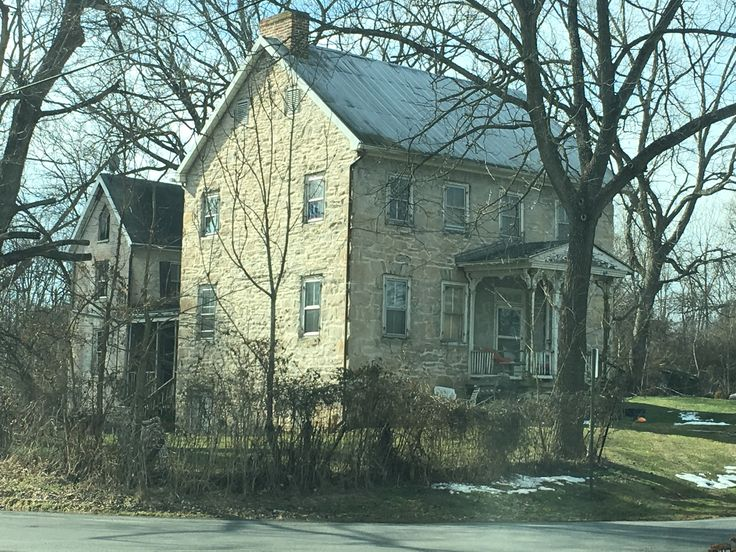 Beautiful Stone House In Beaver Creek Near Hagerstown Maryland A Lovely Old Home With Exceptional Details It Has Gothic Revival