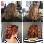 Change is as good as a holiday   beverlymayhair redhair lob adelaidehairdresser