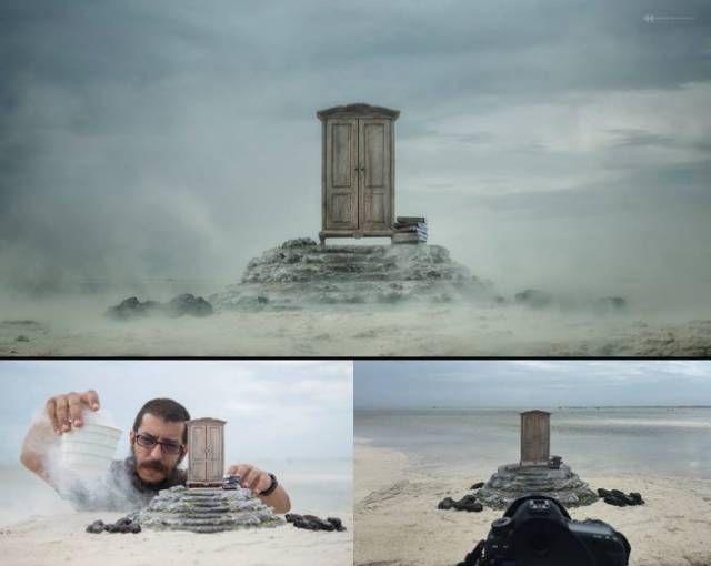 22 imagens mostram as verdades ocultas por trás das fotos em redes sociais