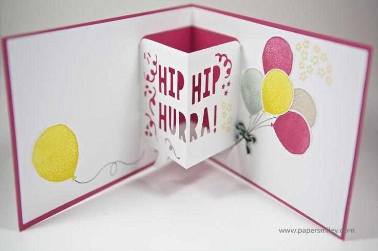3DGeburtstagskarte mit Material von Stampin' Up! 3d