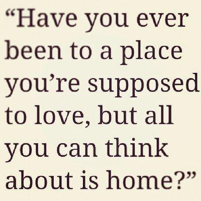 Homesick Quotes