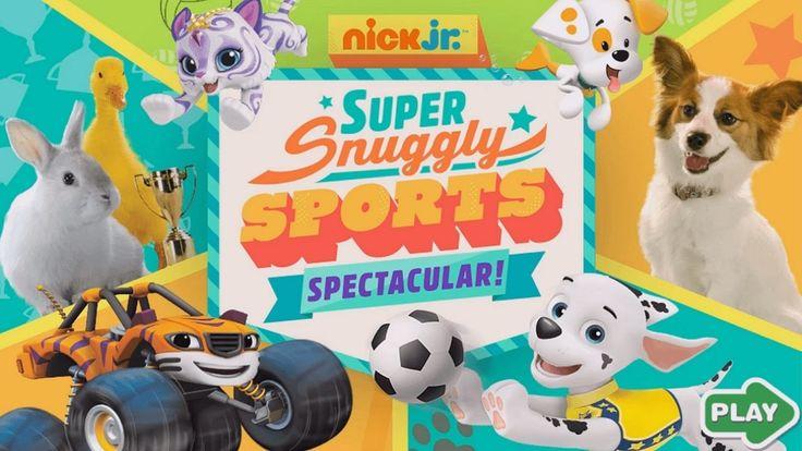 Nick Jr. Super Snuggly Sports Spectacular Best Kids Games HD